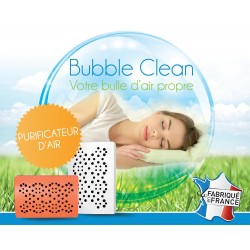 Bubble Clean - purificateur air - destructeur polluants bureau et maison